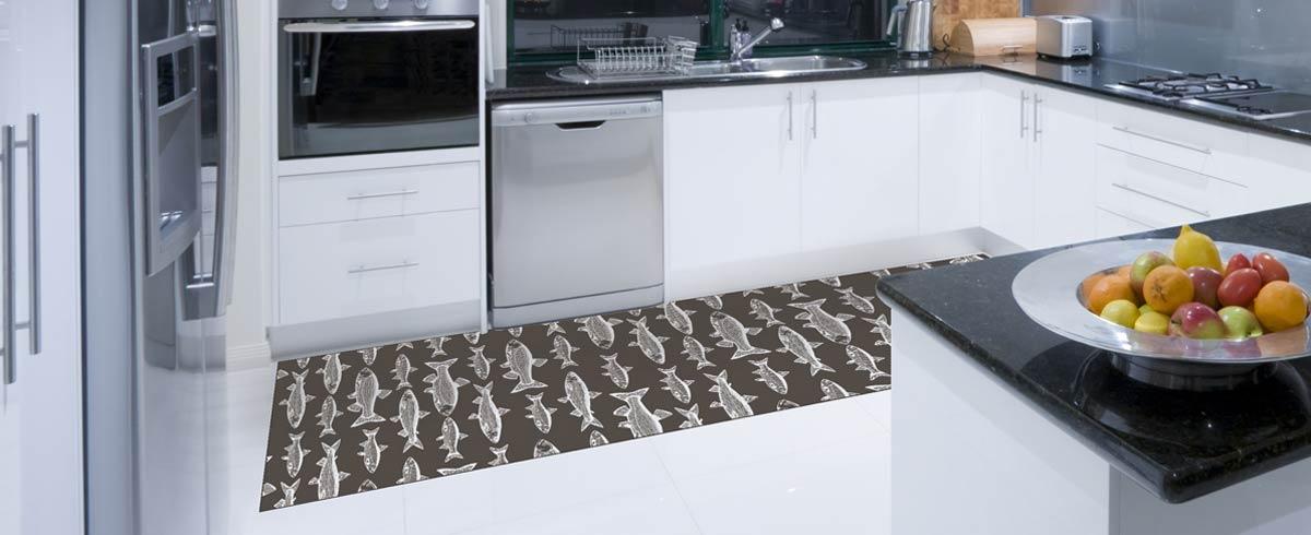 alfombras al corte para la cocina
