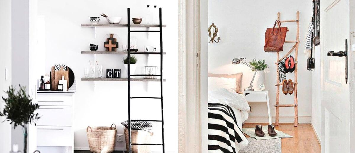 Decora con escaleras antiguas tu hogar 1