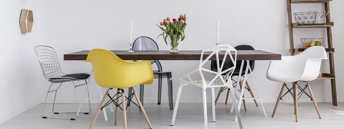 Sillas modernas de Deco&Lemon para marcar la diferencia