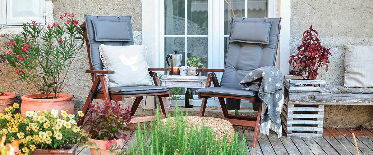 Muebles de terraza, ¿Cuáles comprar para disfrutar del buen tiempo?