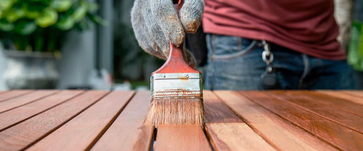 Muebles renovados, cómo blanquear la madera para decorar